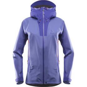 Haglöfs W's Kabi K2 Jacket violet storm/purple rush
